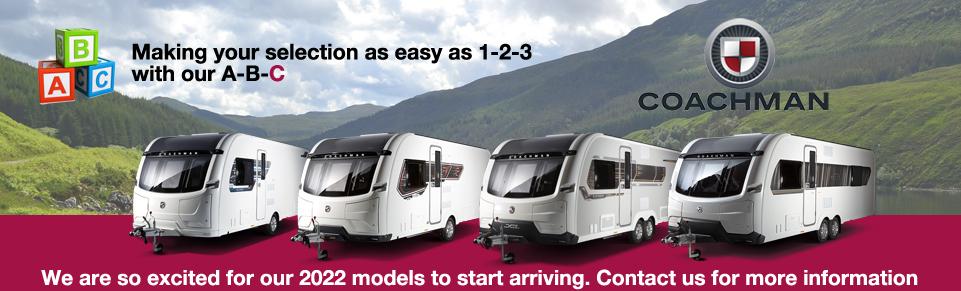 NEW Coachman Caravans and Motorhomes at Dyce Caravans