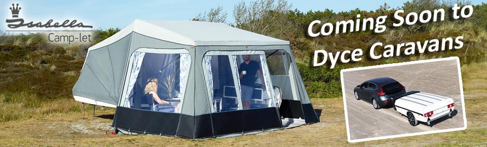 NEW Camp-lets at Dyce Caravans