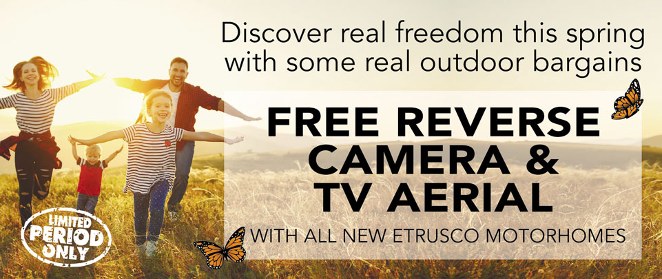 Free reverse camera and tv aerial