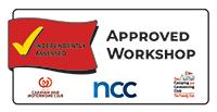 Dyce Caravans Approved Workshop Badge